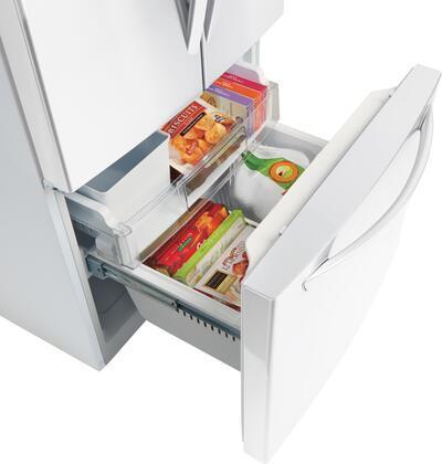 ... LG LFC24770SW Freezer Drawer Angle 1 ...