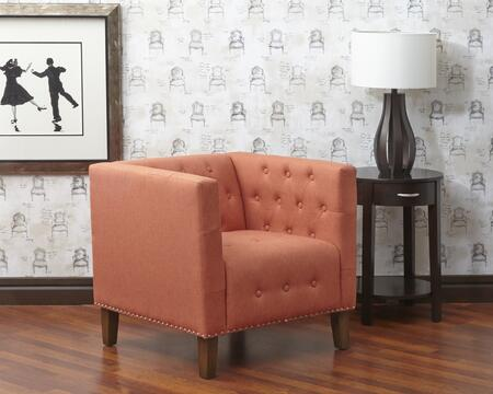 Jofran ZOECH  Zoe Tufted Accent Chair