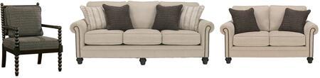Milo Italia MI4861SLSACLINE Elisabeth Living Room Sets