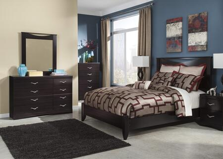 Milo Italia BR3165457DM Maldonado Queen Bedroom Sets
