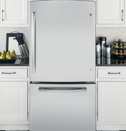 Ge Gde23esess 33 Inch 23 1 Cu Ft Bottom Freezer Drawer