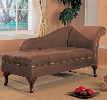 Coaster 550068 Traditional Fabric Chaise Lounge