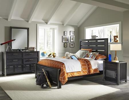 Samuel Lawrence 8942401530531BDMN Graphite Twin Bedroom Sets