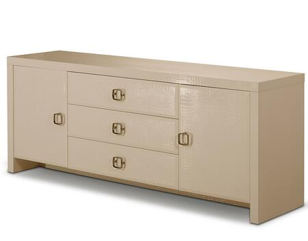 VIG Furniture VGUNAC612180CMP A & X Glam Series Wood Dresser