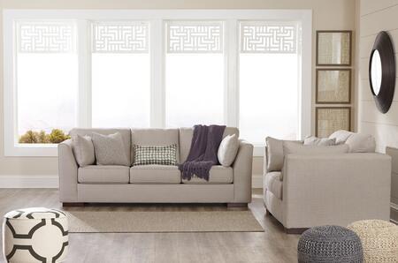 Milo Italia MI8540SLALLO Georgia Living Room Sets