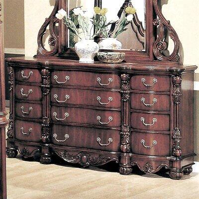 Yuan Tai 5297DR Savannah Series Wood Dresser