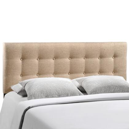 Modway MOD-5172-XXX Emily Full Size Contemporary Headboard with Button Tufted Design, Fiberboard and Plywood Frame, and Fine Polyester Upholstery
