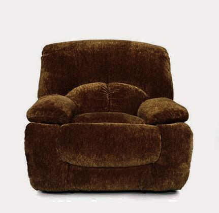 Coaster 600713 Fawn Series Casual Fabric Wood Frame  Recliners