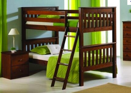 Donco 120E  Twin Size Bunk Bed