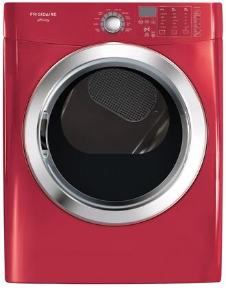 Frigidaire FASG7074NR Affinity Series Gas Dryer, in Red