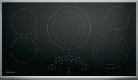 "Monogram ZEU36RSJSS 36"" Touch Control Electric Cooktop"