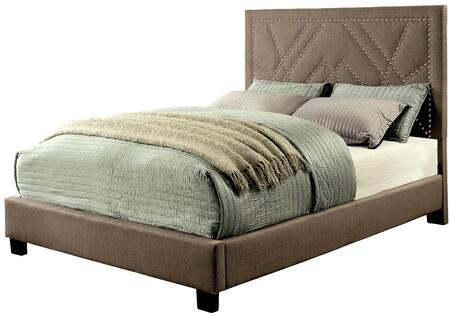 Furniture of America CM7433BRQBED Mirianne Series  Queen Size Platform Bed