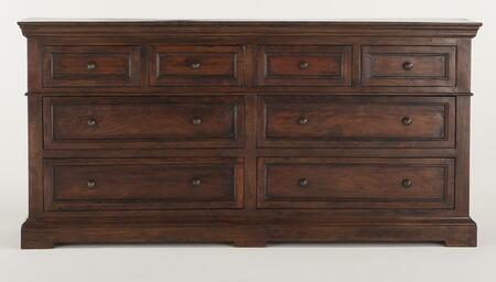 Home Trends & Design ZWCR6421 Carmela Series Wood Dresser