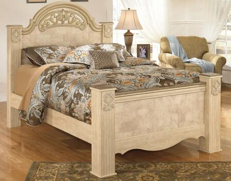 Signature Design by Ashley B346686699 Saveaha Series  King Size Poster Bed