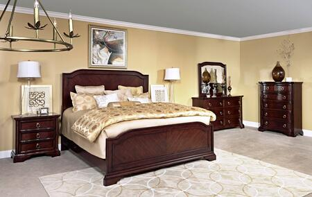 Broyhill 4640QPBNCDM Elaina Queen Bedroom Sets