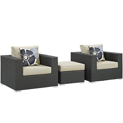 Modway EEI2386CHCBEISET  Patio Sets