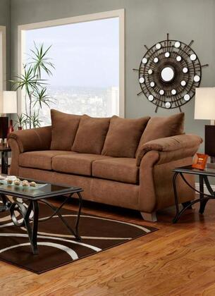 Chelsea Home Furniture 6703AC Verona IV Series Stationary Fabric Sofa