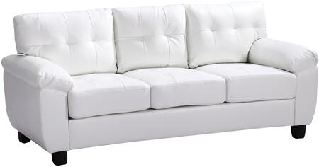 Glory Furniture G907AS  Stationary Faux Leather Sofa