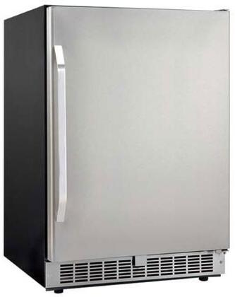 Danby DAR154BLSST Silhouette Select Series Counter Depth All Refrigerator with 5.4 cu. ft. Capacity in Stainless Steel
