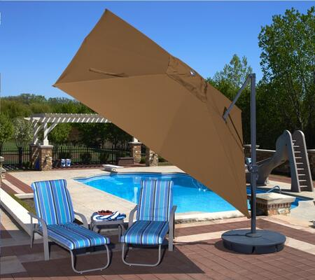 Tilted View of the Umbrella in another Position