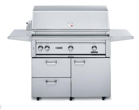 Lynx L42PSFR1LP All Refrigerator Grill, in Stainless Steel
