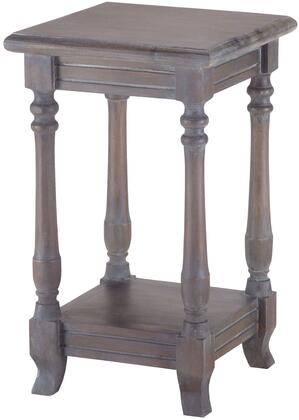 Sterling 7011021 Table Series Transitional Wood Square None Drawers End Table