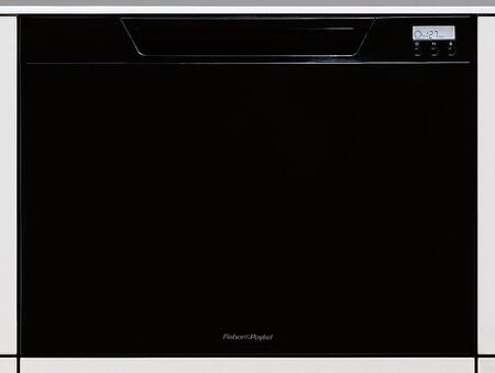 Fisher Paykel DD24SCTB6V2 DishDrawer Series Drawers Semi-Integrated Dishwasher with in Black