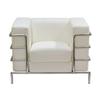 Diamond Sofa CITADELCHWHPARTIAL  in White
