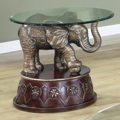 Yuan Tai DA1388E Dahlia Series Traditional  End Table