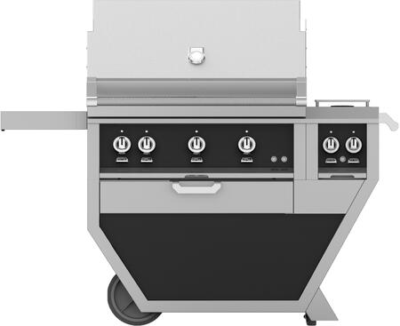 54 in Deluxe Grill with Side Burner    Stealth