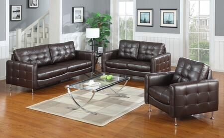 Yuan Tai MN1100BK3PC  Living Room Set