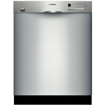 Bosch SHE43P15UC 300 Series Built-In Full Console Dishwasher with in Stainless Steel