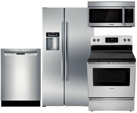 Bosch B22CS30SNS4PCKIT1 300 Kitchen Appliance Packages