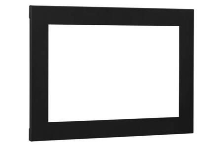 Classic Flame BBKIT Electrical Fireplace Flush Mount Trim Kit with Easy Installation and Removal in Black
