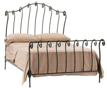 Stone County Ironworks 904116  California King Size Sleigh HB & Frame Bed