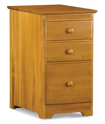 "Atlantic Furniture MISSION3DFCCL 17""  File Cabinet"