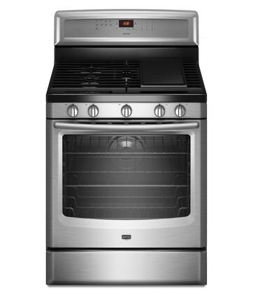 "Maytag MGR8880AS 30"" Gas Freestanding Range 