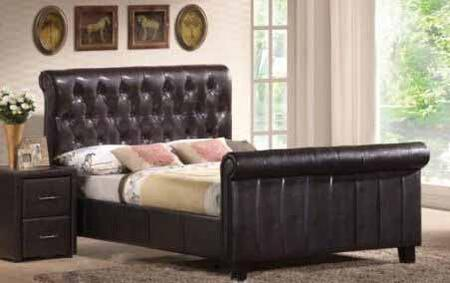 Yuan Tai MN4091K Montgomery Series  King Size Sleigh Bed