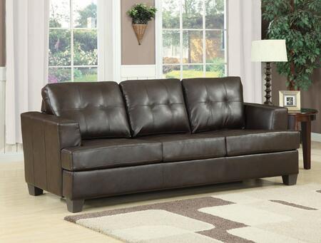 Acme Furniture 1506X Diamond X Bonded Leather Sofa Sleeper