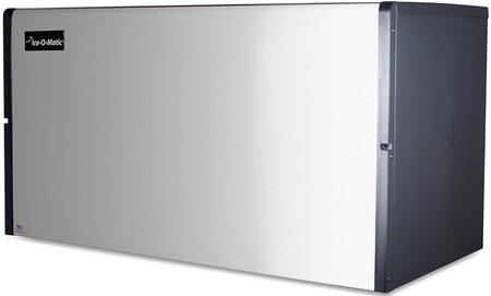 Ice-O-Matic ICE1806 ICE Series Modular  Cube Ice Machine with Superior Construction, Cuber Evaporator, Harvest Assist,  Condensing Unit & Filter-Free Air in Durable Stainless Finish