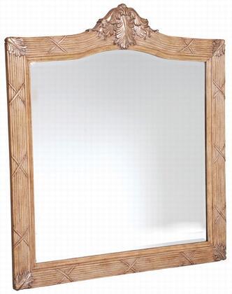 Ambella 06254140036 Martinique Series Rectangular Portrait Wall Mirror