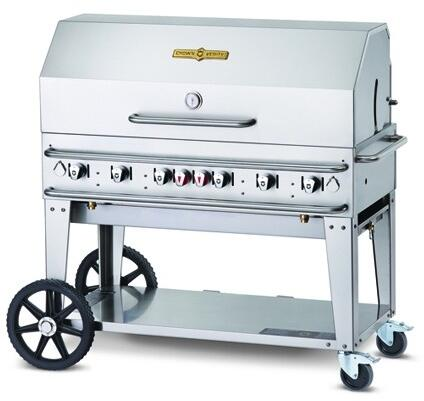 "Crown Verity CV-RCB-48RDP 48"" Pro Series Grill 1 x 48"" Roll Dome and 1 x 48"" Bun Rack"