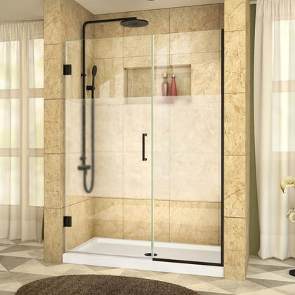 DreamLine UnidoorPlus Shower Door RS39 30 22IP 09 B HFR