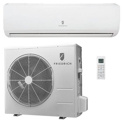 Entire Single Zone Ductless Split System with Remote Control