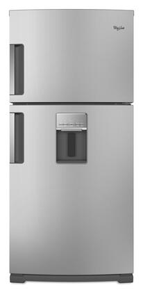 Whirlpool WRT779REYM  Refrigerator with 18.9 cu. ft. Capacity in Stainless Steel