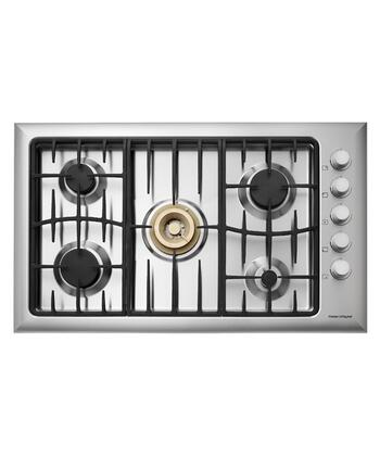 Fisher Paykel CG365DWACX1  Gas Sealed Burner Style Cooktop