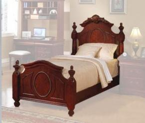 Acme Furniture 11875CT Classique Series  Twin Size Panel Bed