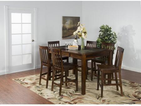 Sunny Designs 1274DCDT6BS Santa Fe Dining Room Sets