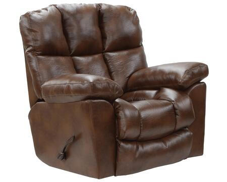 """Catnapper Griffey Collection 46"""" Recliner with Extra Wide Automotive Seating, Tall Rounded Back, Heavy Weight Padded and Valentino Bonded Leather Upholstery"""