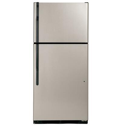 Hotpoint HTM18IBPSA Freestanding Top Freezer Refrigerator with 17.9 cu. ft. Total Capacity 3 Glass Shelves 5.03 cu. ft. Freezer Capacity